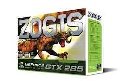 ZOGIS GEFORCE GTX 285 1GB GDDR3 512 BITS