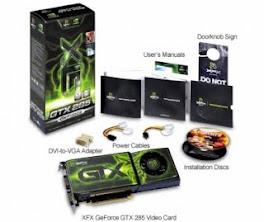 PLACA DE VIDEO GTX 285 DDR3 1GB