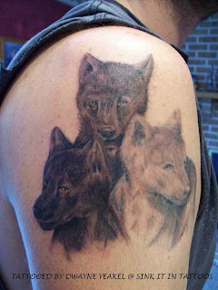 Wolf Tattoo Pictures