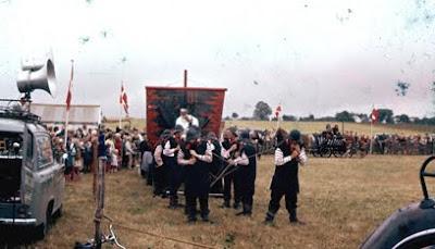 Optog i forbindelse med 200 års jubilæum for Stavnsbåndets ophævelse 1988 - klik for større billede