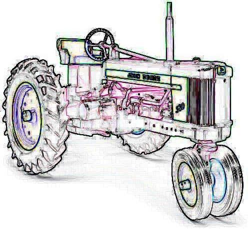 Tractor Pull Clip Art Vector : Tractor clip art vector free