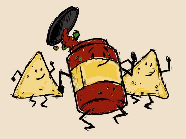 Salsa Dancing 122010» Vector Clip Art - Free Clip Art Images