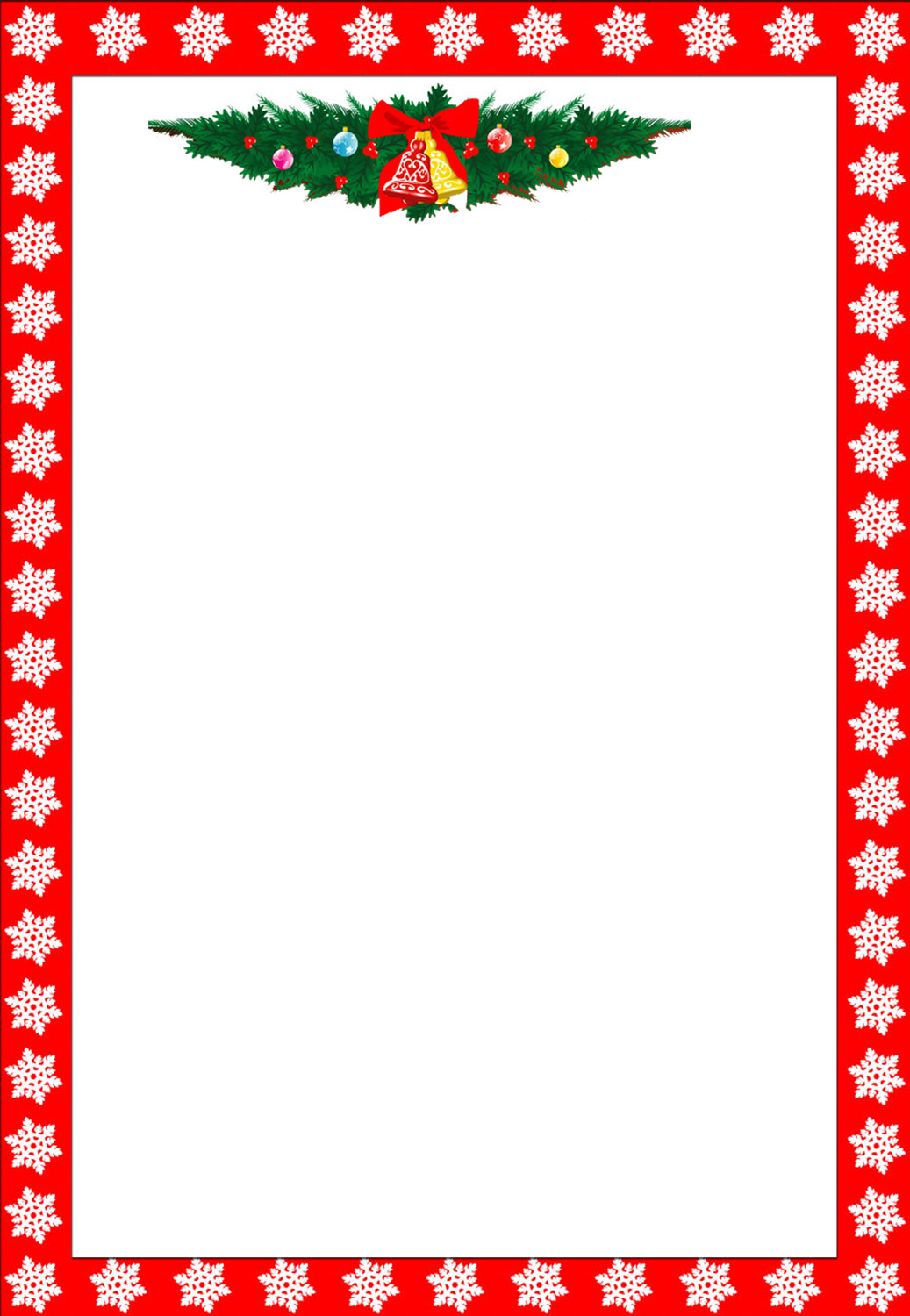 Pin Christmas Border Free Page Borders Spyfind On Pinterest
