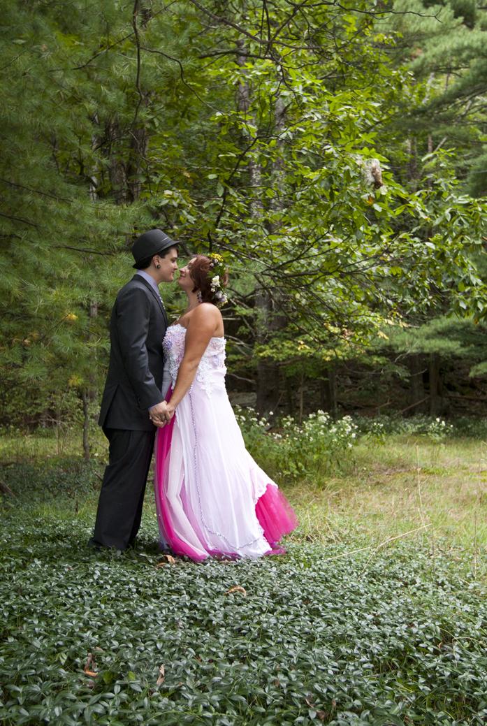 Garnerville arts wedding