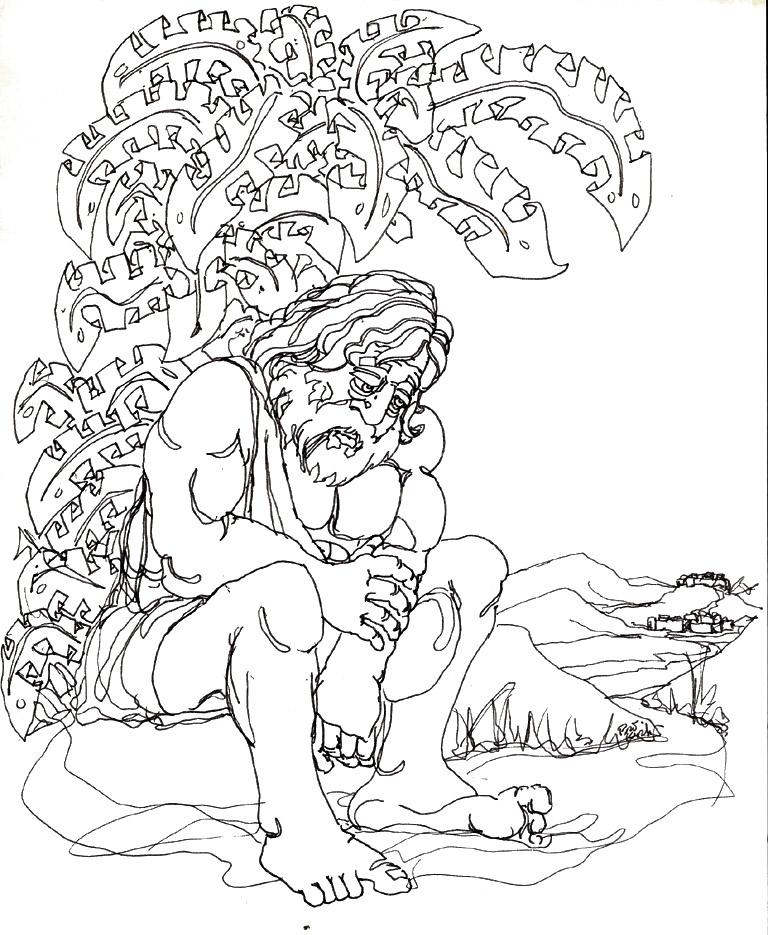 bible coloring pages jonah - photo#36