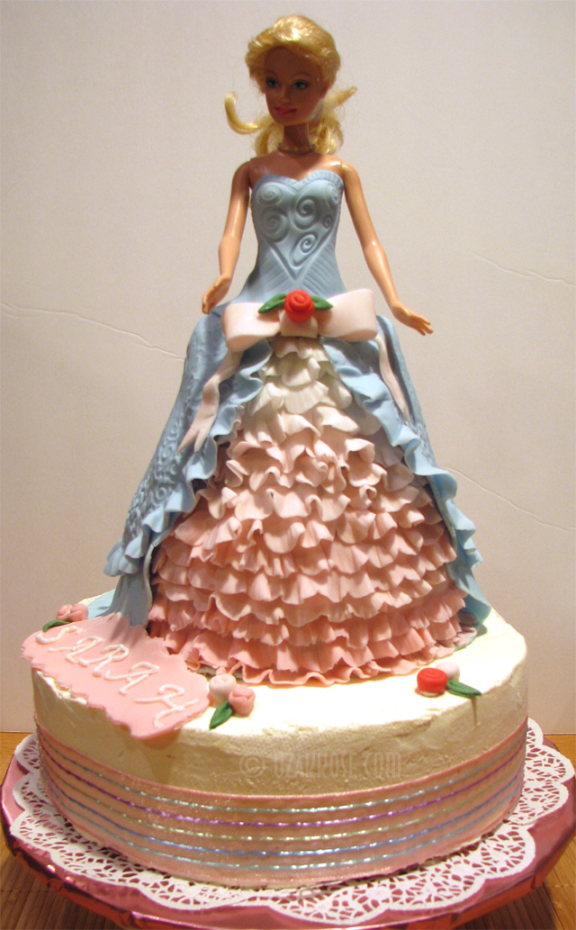 Barbie Chocolate Cake Images : The gallery for --> Barbie Chocolate Cake Recipe