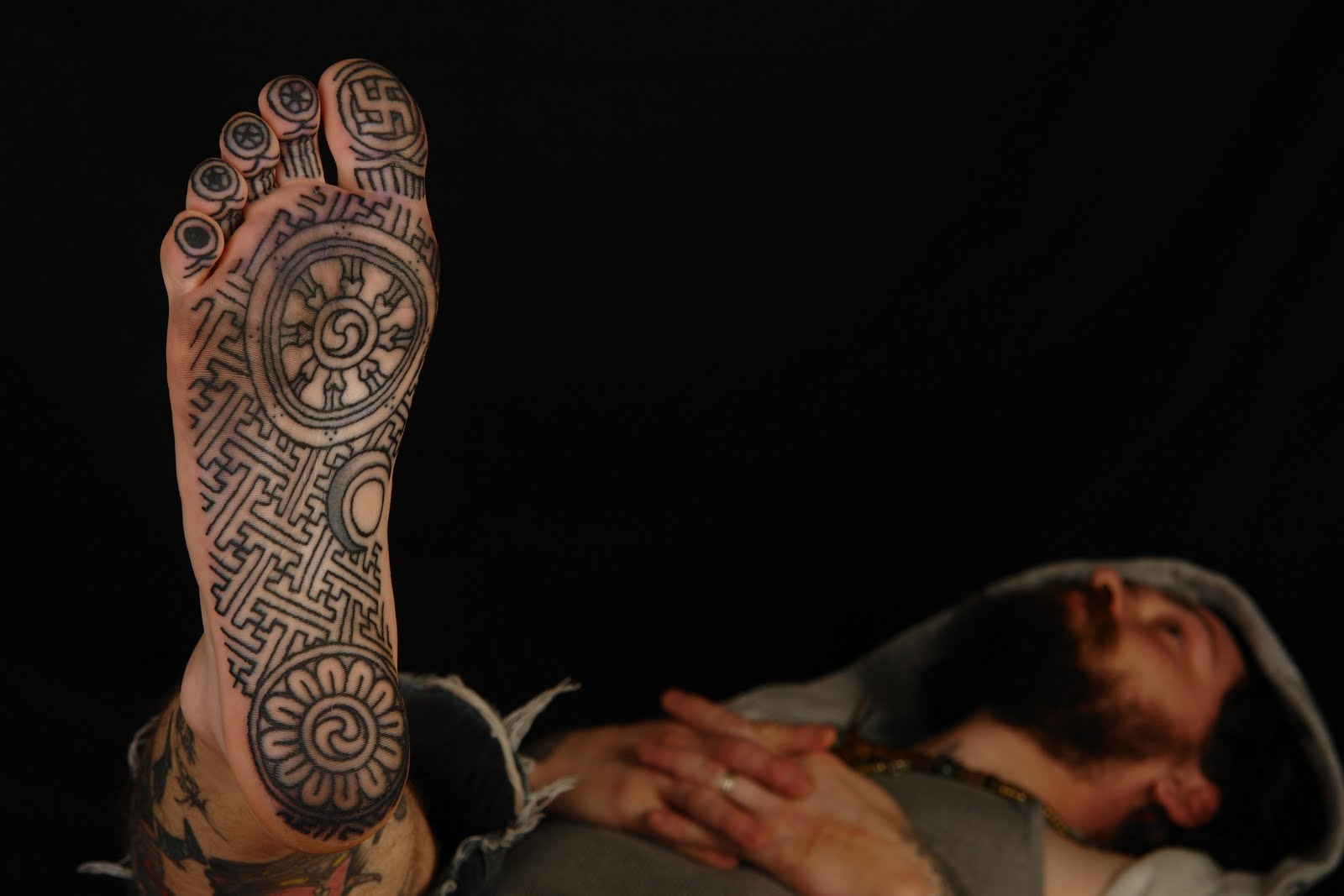 Shane tattoos buddhist tattoo design on sole of foot ryan buddhist tattoo design on sole of foot ryan traditional buddhist swastika is involved for those who keep mistaking this for a nazi symbol biocorpaavc Gallery