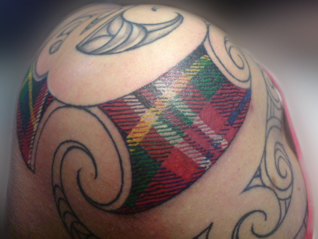 forearm tattoos phnix tribal