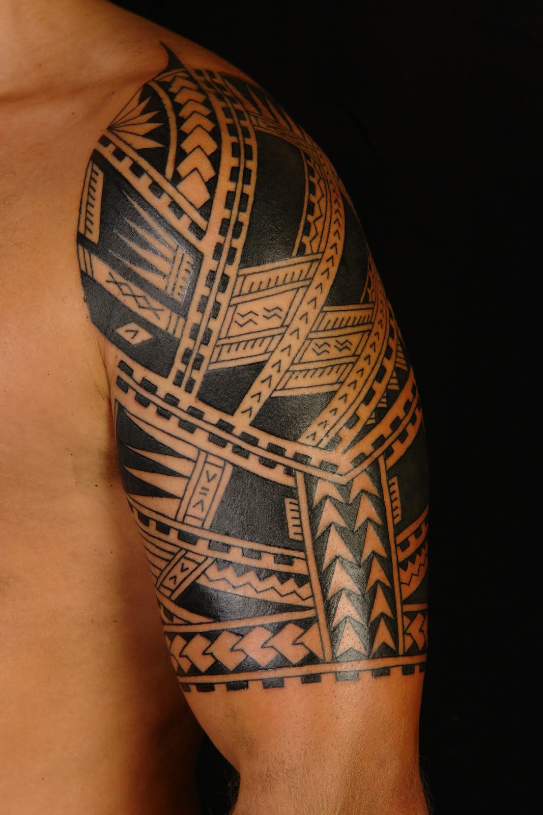Hawaiian Tribal Tattoos Sleeves MAORI POLYNESIA...