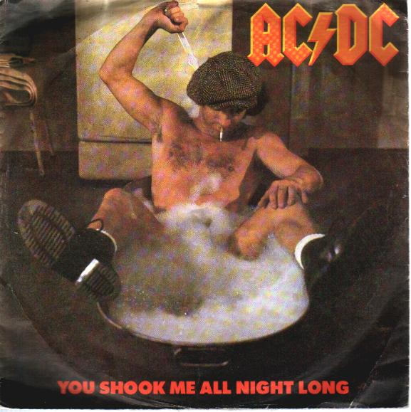 ac dc   you shook me all night