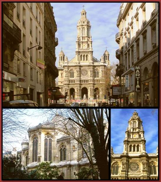 Peters Paris: Sainte-Trinité Church