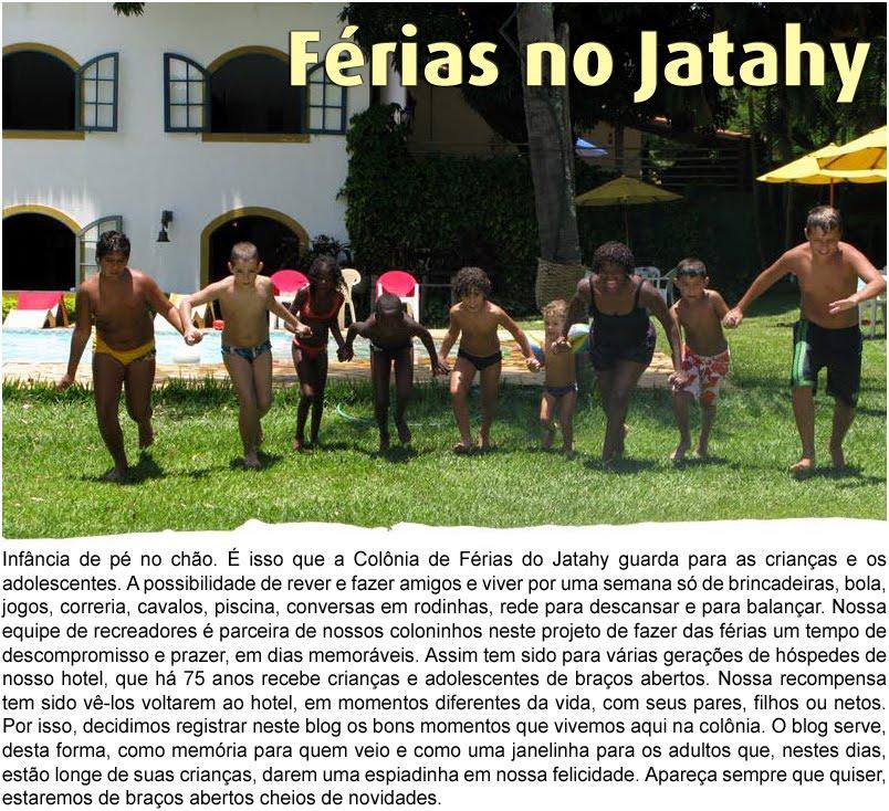 Colônia de Férias do Jatahy