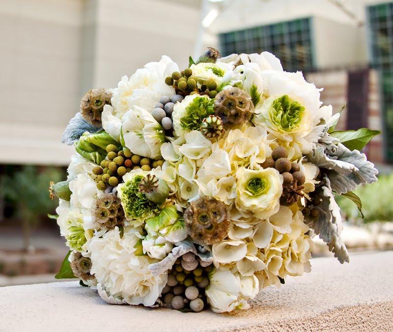 Bridal Flowers In November : Mignonne handmade november