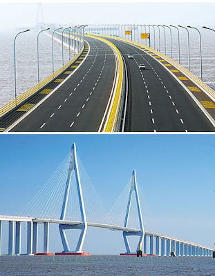 Hangzhou Bay Bridge (Cina)