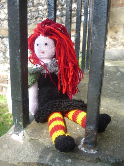 Knit a rag doll: free pattern :: allaboutyou.com