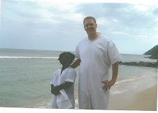 Beach Baptism in Tortola