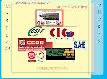 Asamblea Informativa Carrera Profesional en el H.V.X.