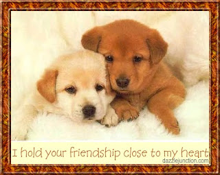 Friendship Puppy Cards