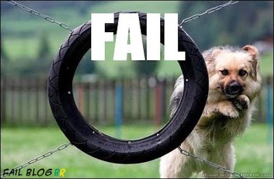 Cachorro Pulando - Fail