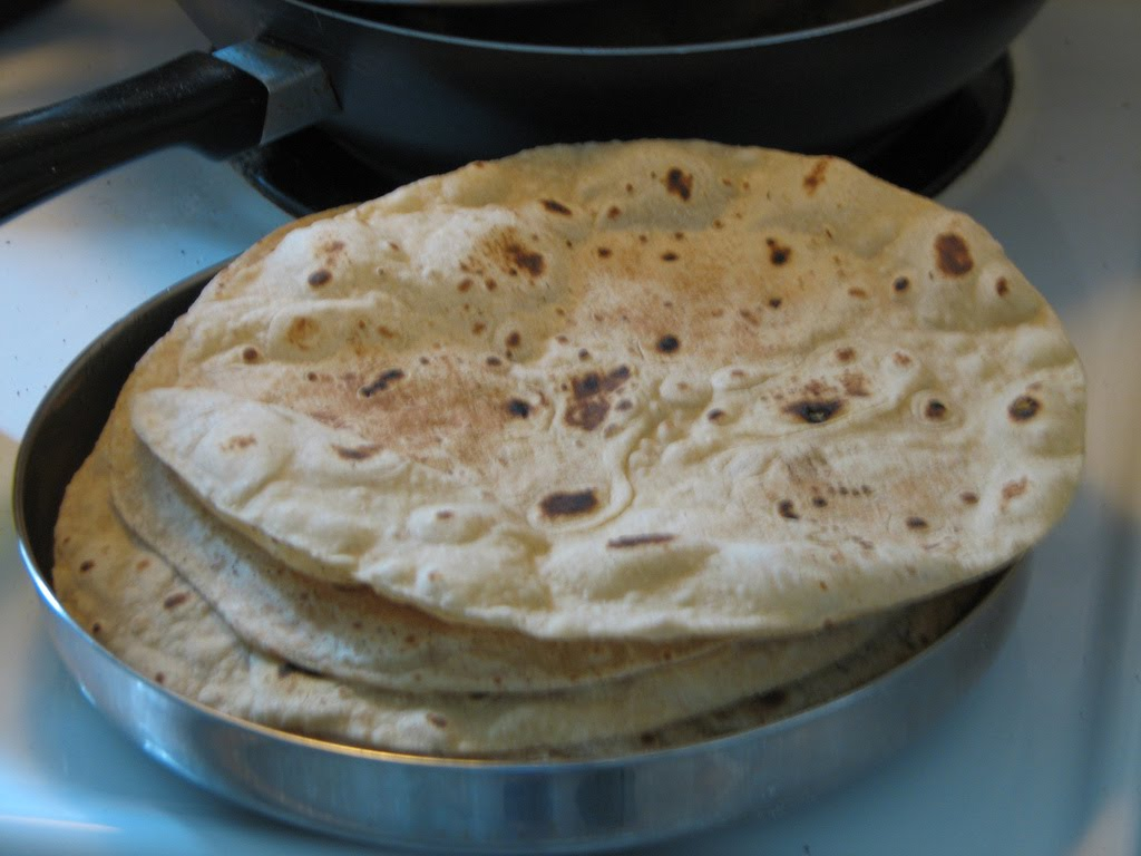 Food from all over the World: Roti or Chapati