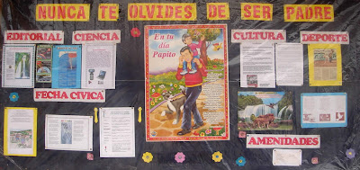 Dia del padre en peri dico mural colegio pachacutec for Articulo de cultura para periodico mural