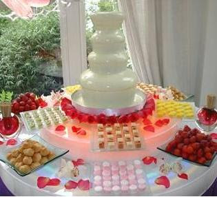 Wedding Chocolate Fountain Decoration, cake fountain, chocolate