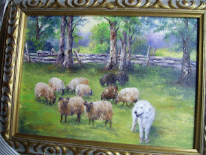 Hogan & Sheep Immortalized!