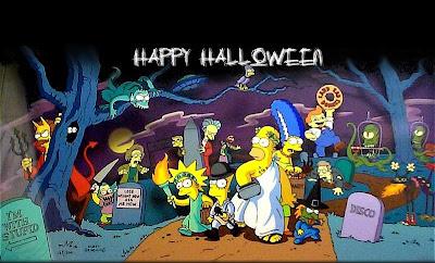 Banco de fotos gratis los simpson es halloween - Coloriage simpson halloween ...