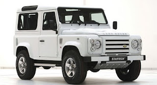 land rover defender 90 yachting edition