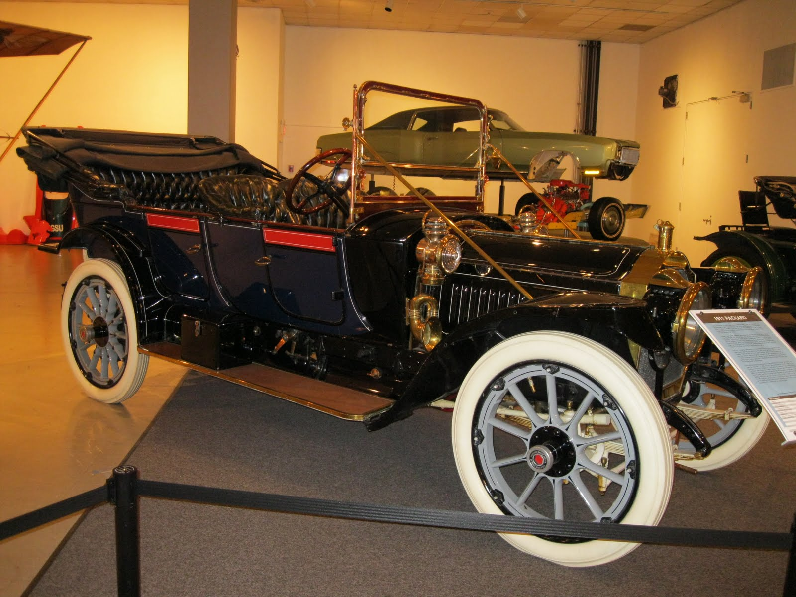 luxury autos of the era.