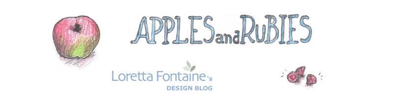 APPLESandRUBIES: Loretta Fontaine's Older Blog