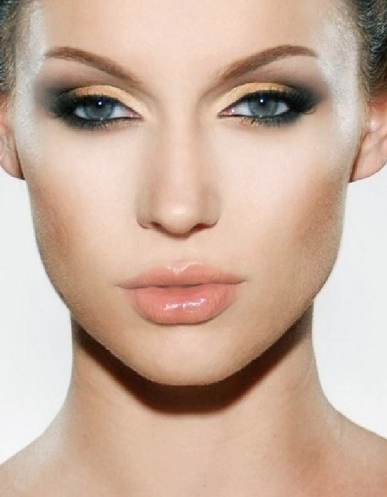 Makeup for deep eyes