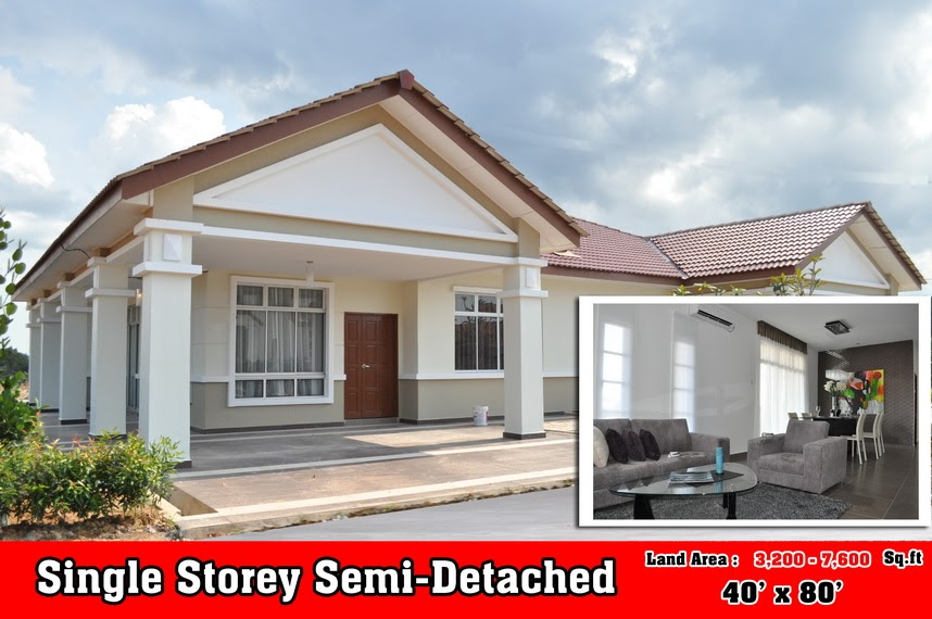 All About Properties In Malaysia Rm270 000 Single Storey
