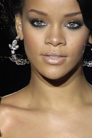 rihanna eye makeup tutorial