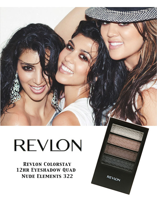 ... Eyeshadow Quad ? Nude Elements, ColorStay Eyeliner ? Black, ...