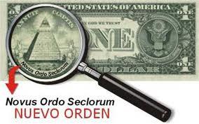 Los símbolos secretos del billete de un dólar