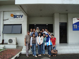 Foto bersama di TX SCTV