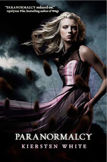 Paranormalcy - Kiersten White Paranormalcy_front