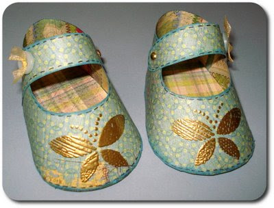 21 DIY Baby Bootie Patterns {sewing, crochet & knit} - Tip