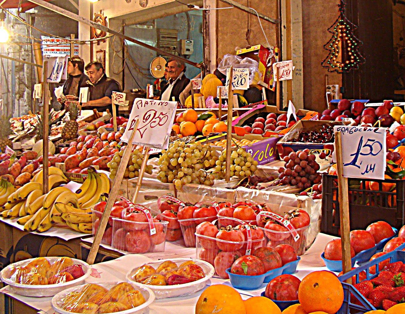 Palermo in un click mercato del capo for Pulizie domestiche palermo