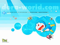 Doraemon Swimming