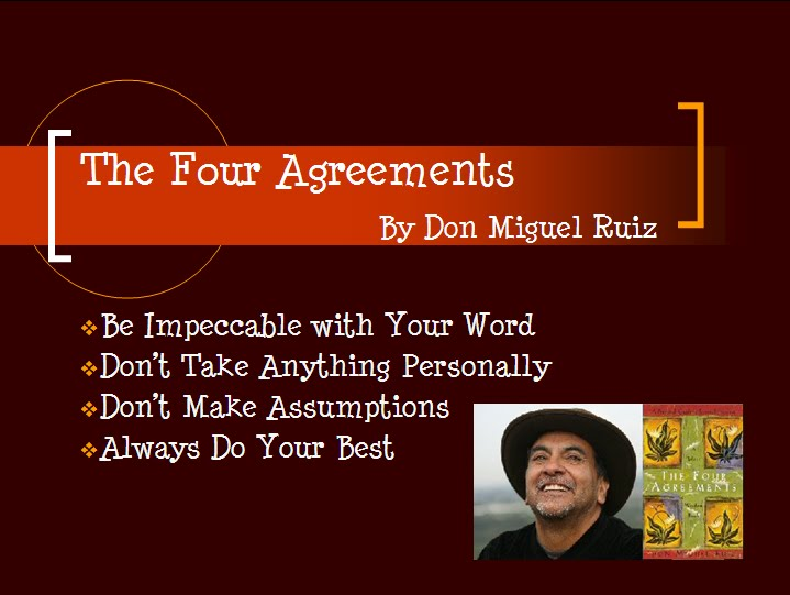 Be Positive The Four Agreements
