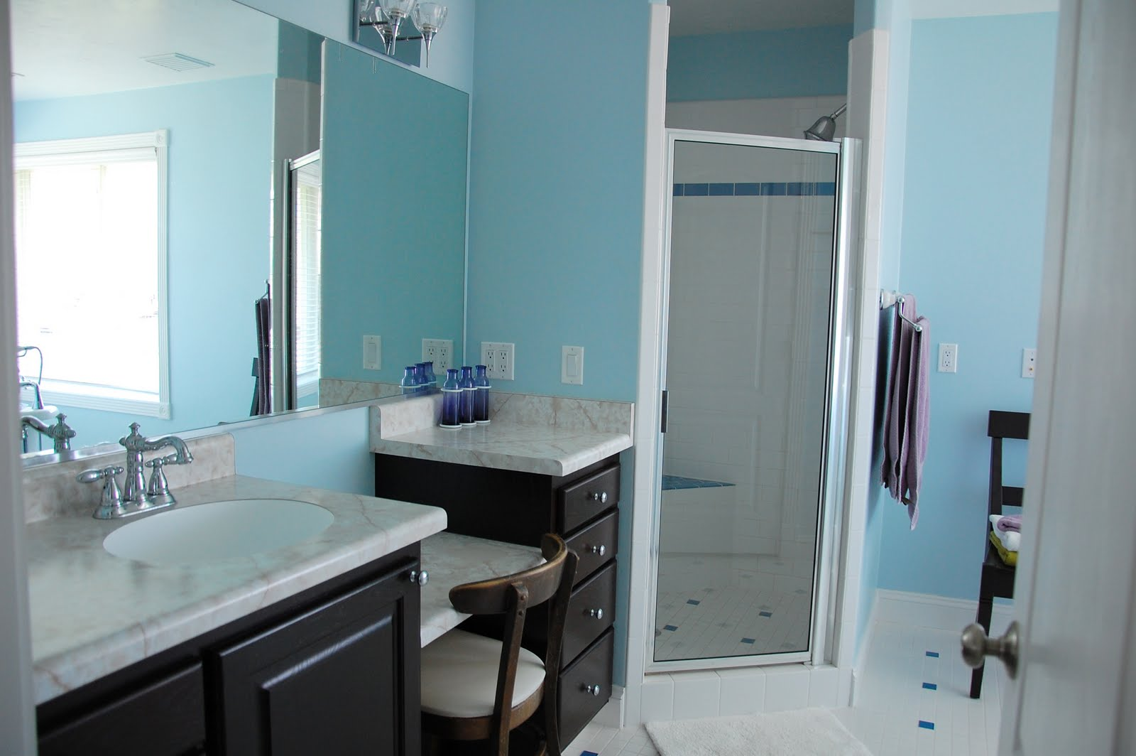 Bathroom Vanity with Sit Down