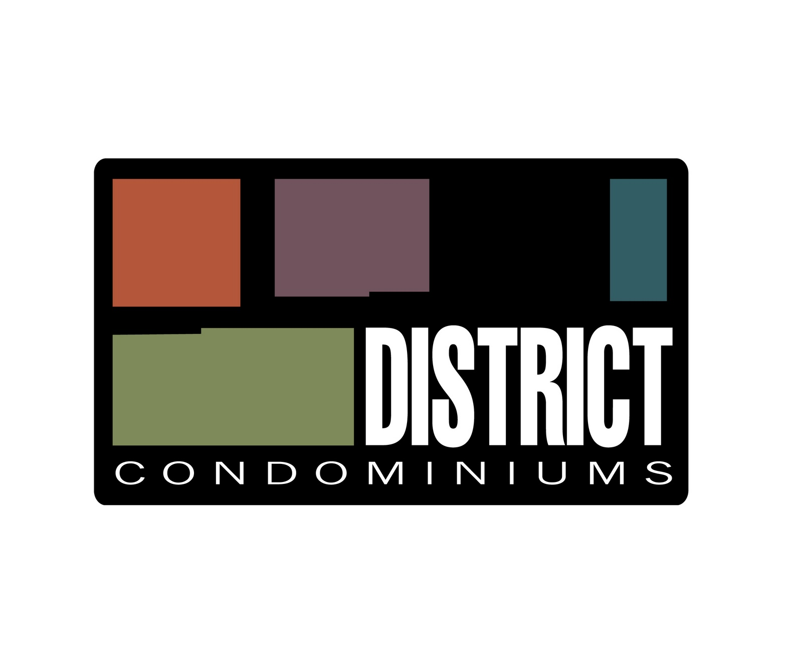 wolf communications district condominiums logo