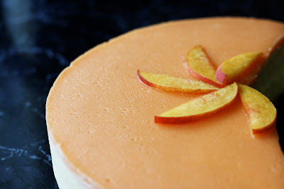 Edible Moments: Peach Mousse Cake