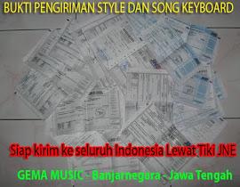 Bukti Pengiriman Style & Song ke Seluruh Indonesia