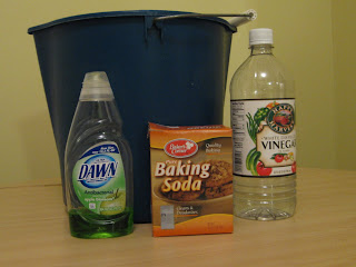 Effortlessly Saving One Recipe At A Time Homemade Floor Cleaners - Cleaning linoleum floors with vinegar and baking soda