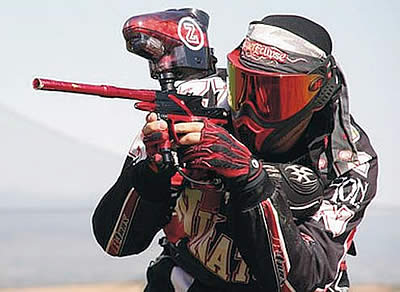 Diferencias entre practicar paintball y airsoft Paintball