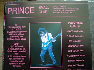 Tonton decibel music unlimited prince live 1988 39 39 small club for 1988 club music