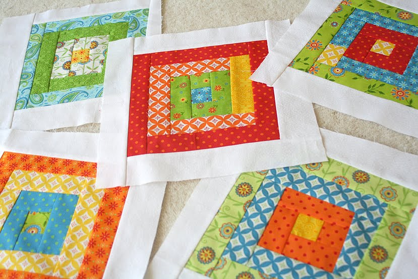 Preemie Quilt Patterns or Baby Luv Program | Wee Grace Projects ... : log cabin baby quilt pattern - Adamdwight.com
